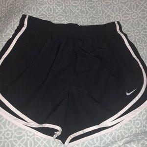 Black Nike dry fit shorts